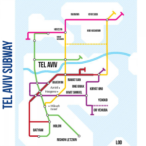 Appel d'offres pour 3 lignes de métro à Tel Aviv