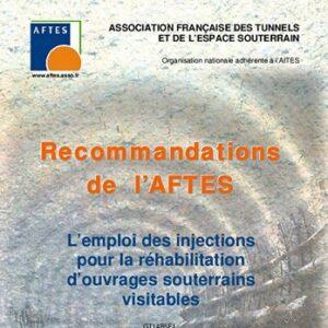 L'emploi des injections pour la réhabilitation d'ouvrages souterrains visitables – GT14R5F1
