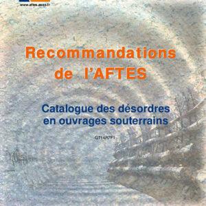 Catalogue des désordres en ouvrages souterrains