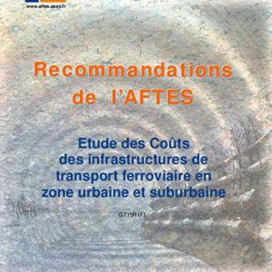 Etude des Coûts des infrastructures de transport ferroviaire en zone urbaine et suburbaine