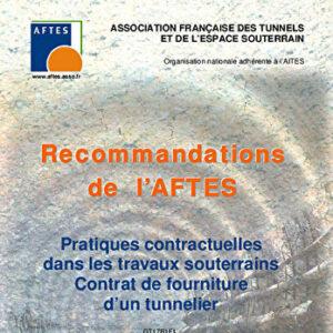 Pratiques contractuelles dans les travaux souterrains - Contrat de fourniture d'un tunnelier