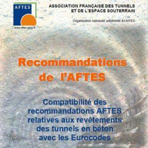 Compatibilité des recommandations AFTES relatives aux revêtements des tunnels en béton avec les Eurocodes – GT29R2F1
