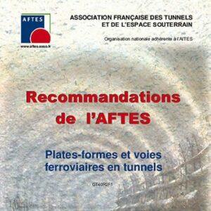 Plates-formes et voies ferroviaires en tunnels – GT40R2F1