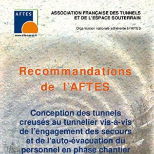 Conception des tunnels creusés au tunnelier vis-à-vis de l'engagement des secours et de l'auto-évacuation du personnel en phase chantier