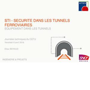 Équipements dans les tunnels