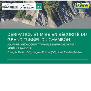 Géologie et tunnels en Rhône-Alpes