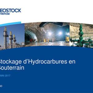 Le stockage d'hydrocarbures en souterrain