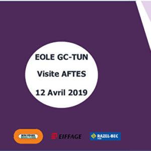 Prolongement d'ÉOLE vers l'Ouest - Construction du tunnel à Courbevoie
