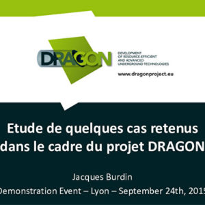 Présentations du Projet de recherche Européen « DRAGON »
