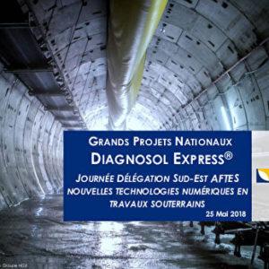 Nouvelles technologies numériques en travaux souterrains