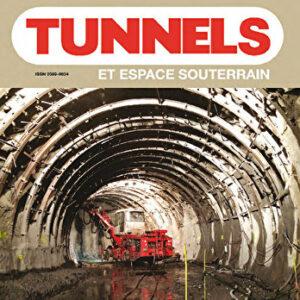 Tunnels et Espaces Souterrain - Mai-Juin/Juillet-Août 2016