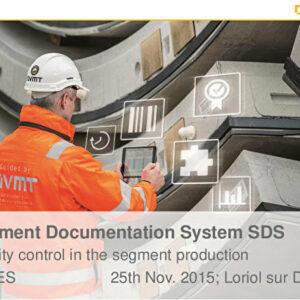 VMT : Les systèmes de contrôle de qualité dans la production de voussoirs