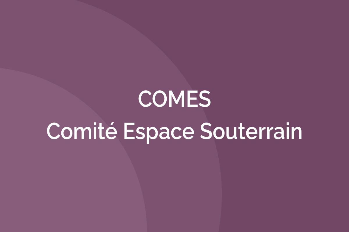 AFTES - Comité Espace Souterrain