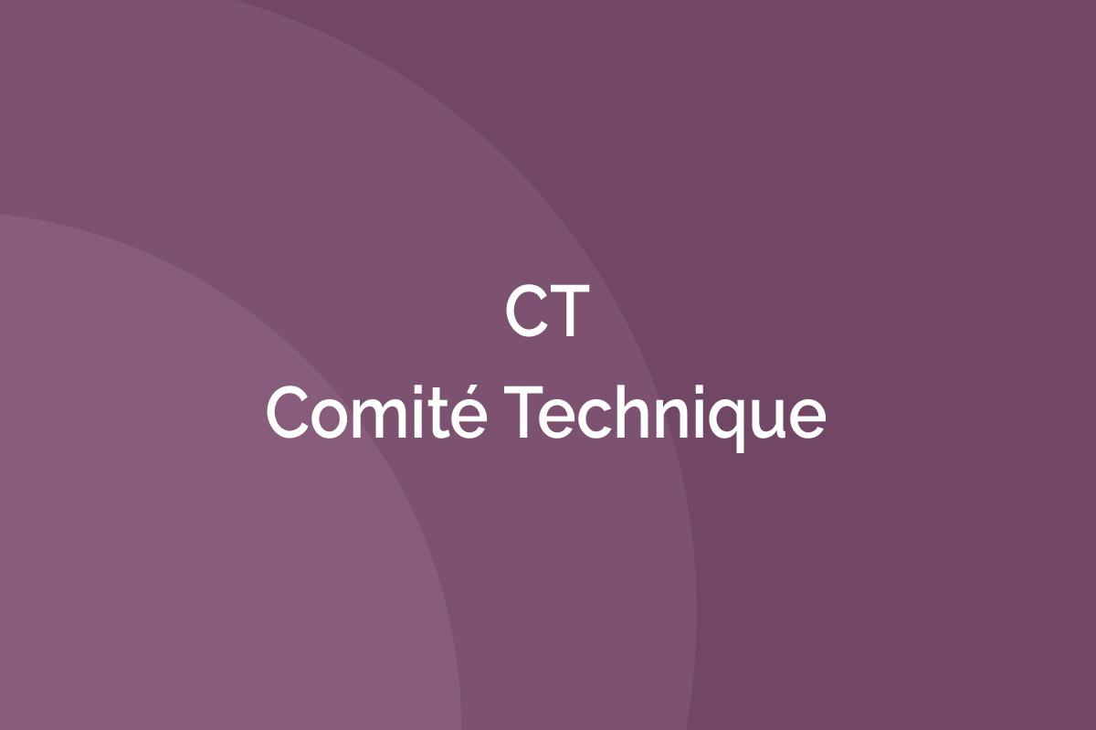 AFTES - Comité Technique