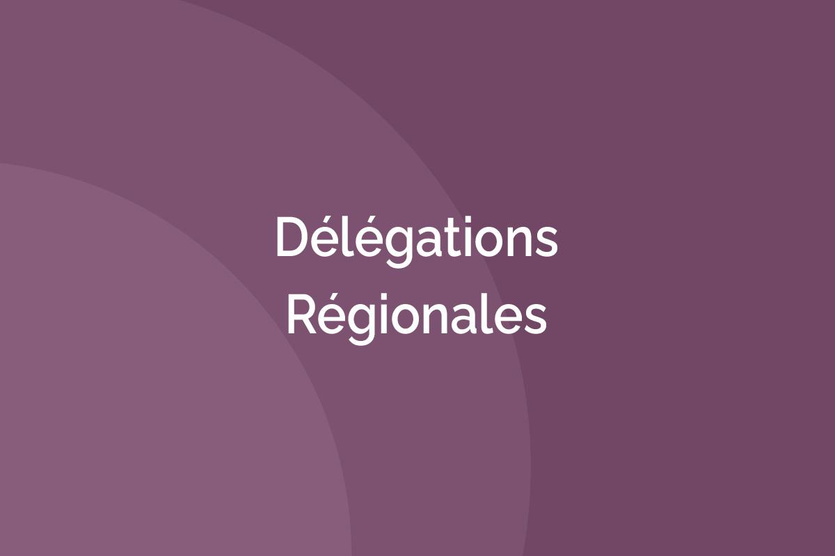 AFTES - Délégations régionales