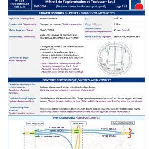 Fiche Tunnelier n°131 - AFTES